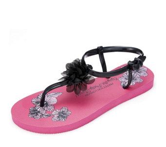 aecbd66a364 Pretty You London Tara Gladiator Flip Flop - 165672
