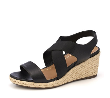 Vionic Orthotic Tulum Ainsleigh Espadrille Wedge Sandal w/ FMT Technology
