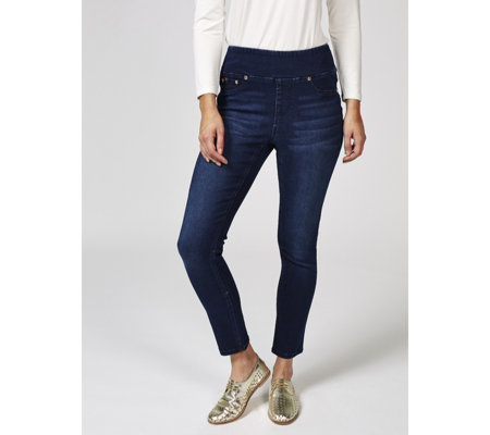Outlet Diane Gilman Skinny Pull On Jeans