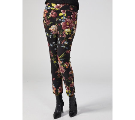 Mr Max Floral Printed Modern Stretch Soft Touch Trouser