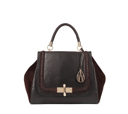 Amanda Wakeley The Cagney Braided Handle Shoulder Bag