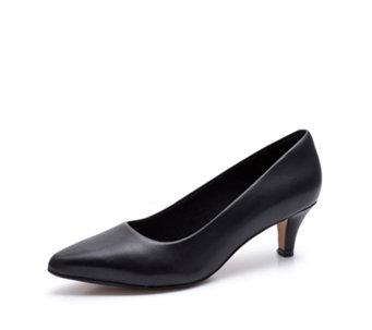e858472c1c20 Clarks Linvale Jerica Point Court Shoe Standard Fit - 176673