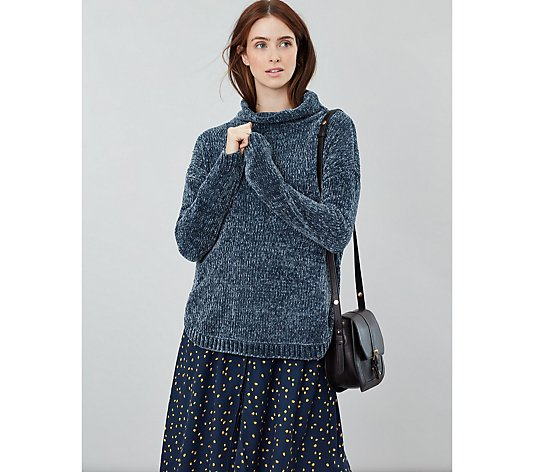 Joules Chelsey Chenille Roll Neck Jumper