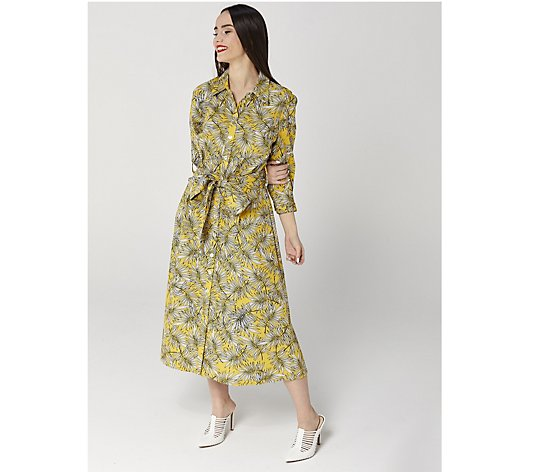Helene Berman Printed Dress