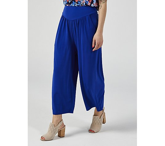 Kim & Co Brazil Jersey Gaucho Wellness Trousers with Pockets