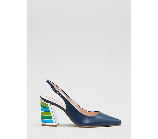 Moda in Pelle Dinella Slingback Point Court