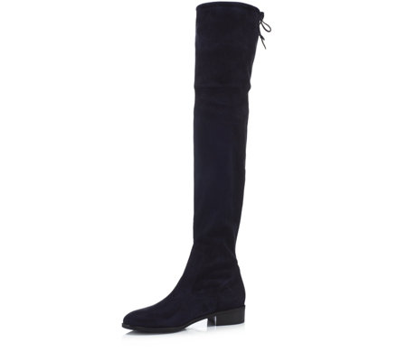 Peter Kaiser Pesa Suede Over The Knee Flat Heel Boot