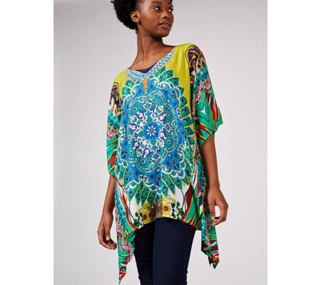 Artscapes Holiday Collection Printed Kaftan