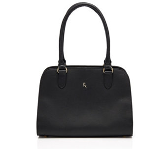 Ashwood Leather and Suede Double Compartment Shoulder Bag - 177874 cea2e346ac6