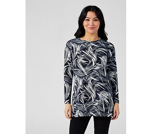 Mr Max Printed Hacci Swing Tunic