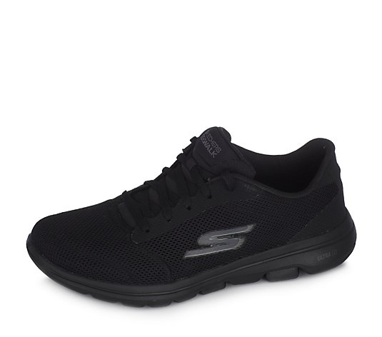Skechers Go Walk 5 Lucky Athletic Air Mesh Lace Trainer
