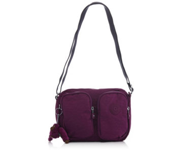 Kipling Patti Pocket Shoulder Bag with Adjustable Strap and Outer Pockets - 166375