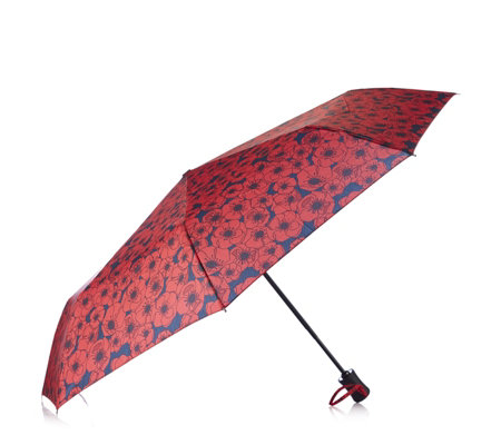 The Poppy Collection Umbrella by Kipling - QVC UK