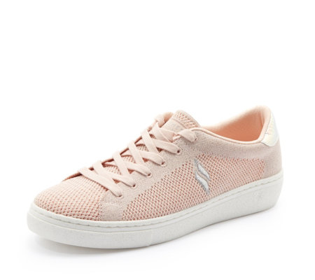 Skechers Street Goldie Knit Sparkle Lace Trainer