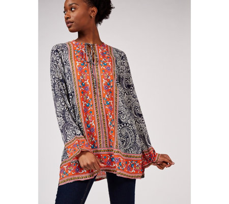 Artscapes Holiday Collection Printed Tunic