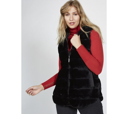 Centigrade Reversible Faux Fur Gilet
