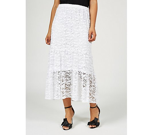 Antthony Designs Tiered Lace Skirt