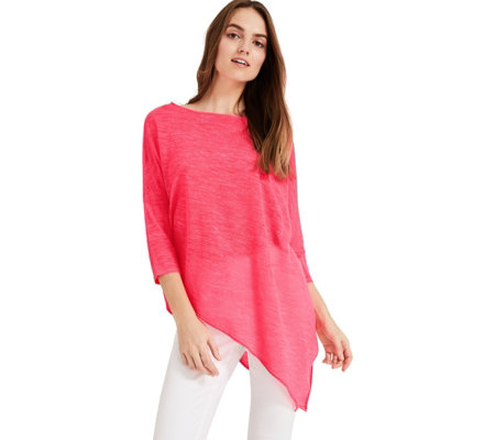 Phase Eight Pearla Asymmetric Knit Top
