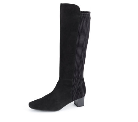 Peter Kaiser Orla Patterned Stretch Back Knee High Boot
