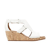 Clarks Un Plaza Strap Wedge Sandal Wide Fit - 170977