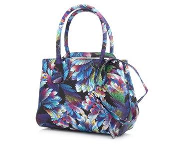 Butler Wilson Fl Leaf Bag 173777