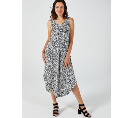 Coco Bianco Printed Gaucho Jumpsuit