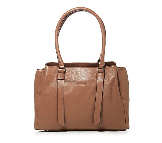 Triple Compartment Shoulder Bag