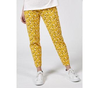 e21ae3c62b Kim   Co Deluxe Denim Knit Narrow Leg Ankle Trousers Petite - 177678