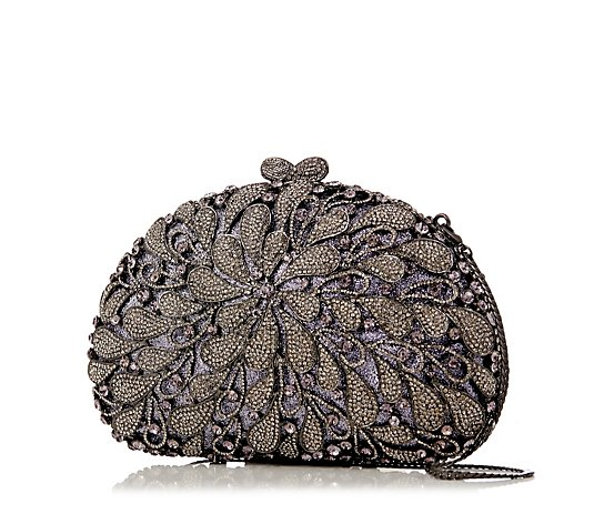 Butler & Wilson Crystal Teardrop Clutch Bag
