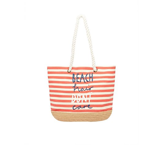 Joules Tendby Espadrille Canvas Bag