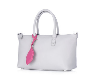 Lulu Guinness Small Frances Grainy Leather Tote Bag with Detachable Strap -  165180 572f94768d