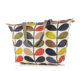 Orla Kiely Classic Multi Stem Zip Shopper Bag - 171380
