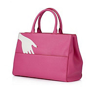 Lulu Guinness Amelia The Hug Leather Tote Bag - 172180
