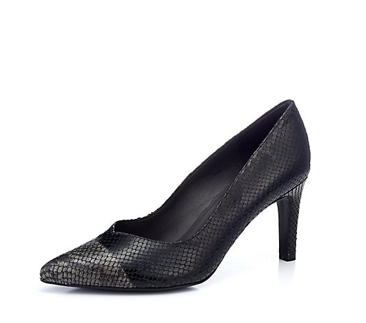 Peter Kaiser Edlyn Point Court Shoe Leather Reptile