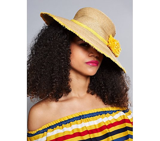 Pia Rossini Sonoma Hat With Pom Detail