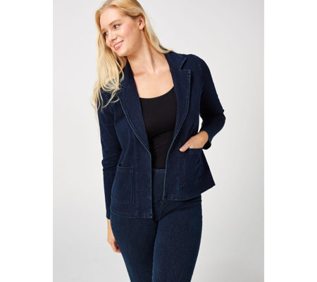 Women with Control Prime Stretch Denim Blazer