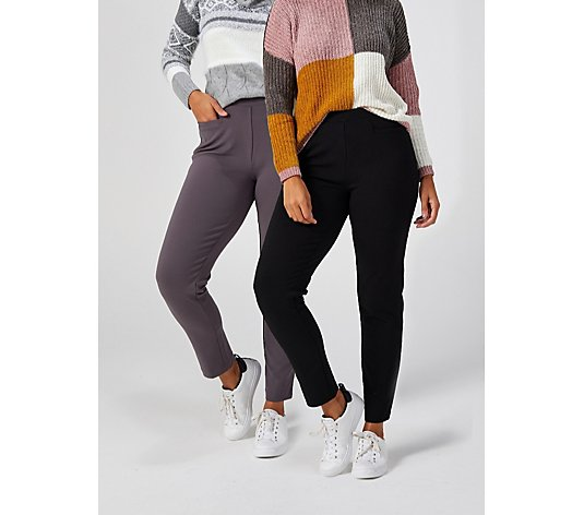 Antthony Designs Boss Lady Pack of Two Trousers