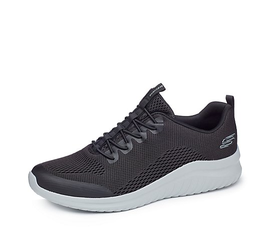 Skechers Men's Ultra Flex 2.0 Kelmer Engineered Mesh Jogger Lace Trainer