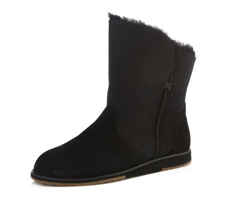 Emu Beach Collection Bells Beach Lo Sheepskin & Suede Boot