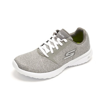 Skechers On The GO City 3.0 Metallic Heathered Lace Up Trainer - 167381