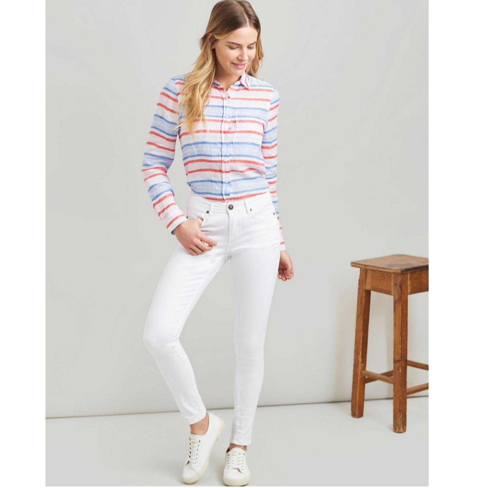 JOULES Monroe Super Skinny Jeans Dark Indigo Sz 18 RRP£59.95 FreeUKP/&P