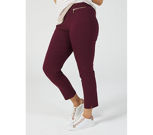 Millennium Ankle Length Regular Trousers by Nina Leonard