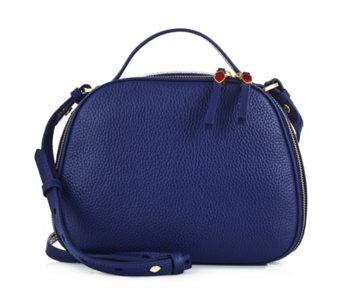 dd223617b4052 Lulu Guinness Henrietta Large Leather Crossbody Bag - 172181