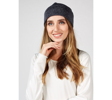 Kim & Co Shimmer Sweater Jersey Hat