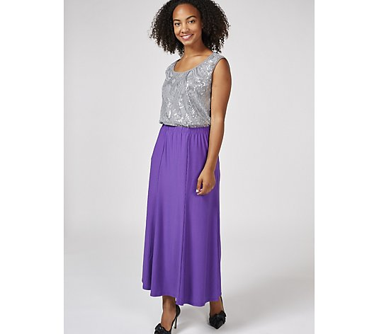 Antthony Designs Maxi Skirt with Elasticated Waistband