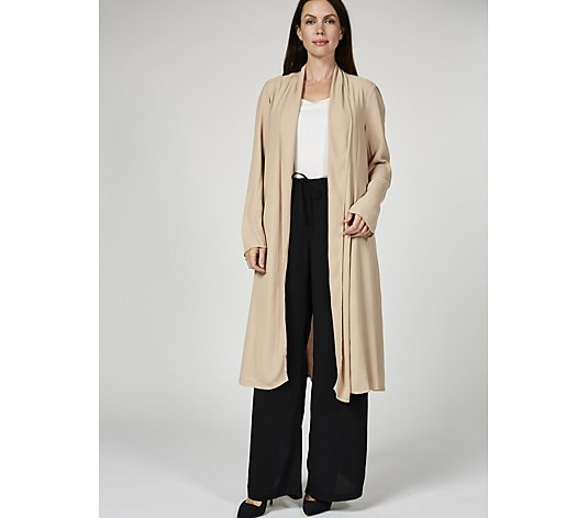 Ghost London Winter Crepe Edge to Edge Alma Duster
