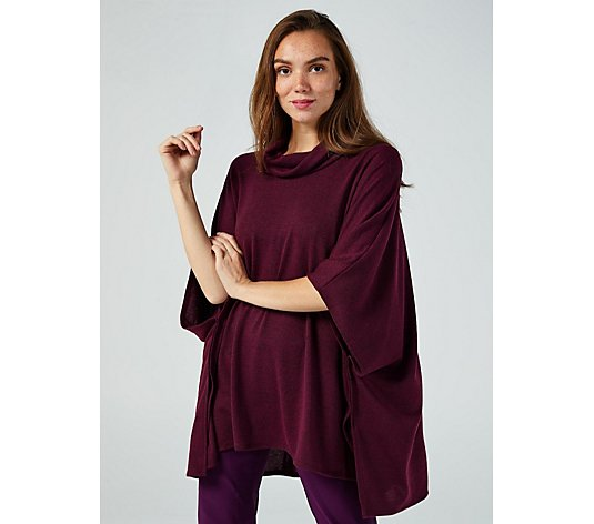 Mr Max Soft Cowl Neck Poncho