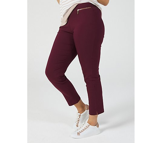 Millennium Ankle Length Petite Trousers by Nina Leonard
