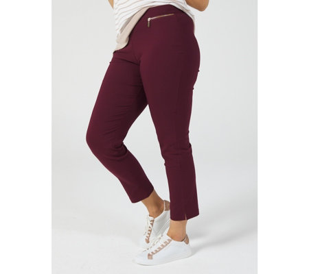 Millenium Ankle Length Petite Trousers by Nina Leonard