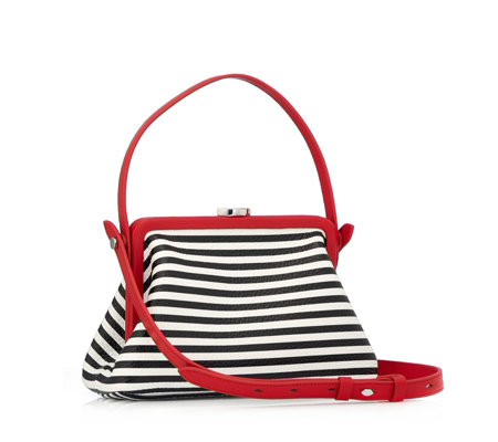 Lulu Guinness Florence Leather Crossbody Bag